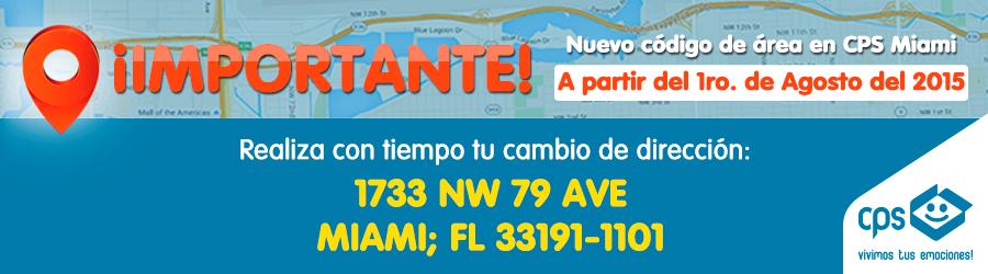 Nueva direccion Miami